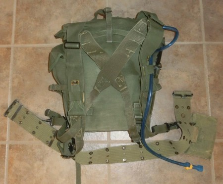 GoRuck with a 1945 pattern field pack
