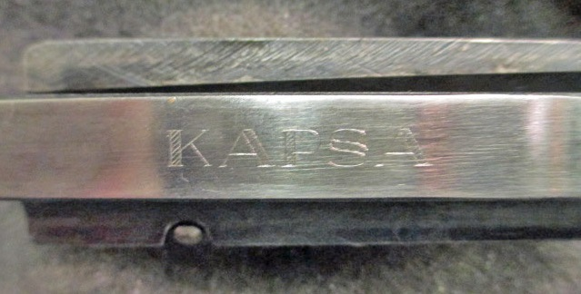 "MP43 Bolt marked ""KAPSA"""
