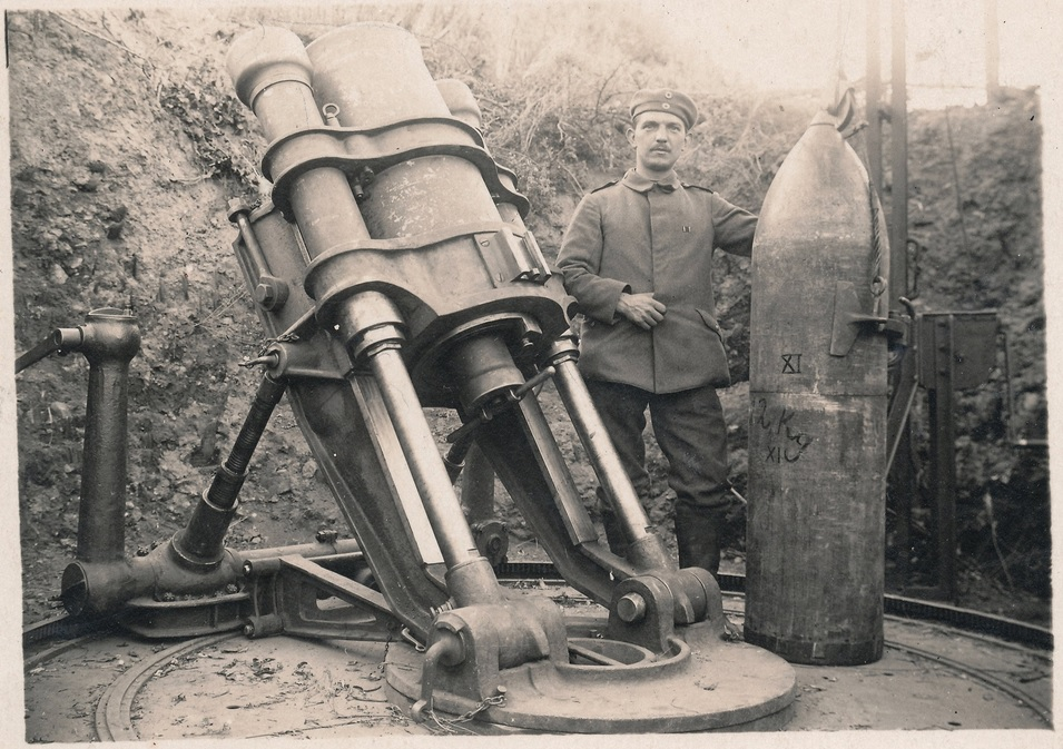 38cm German sehr schwere Minenwerfer
