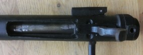 Underside of receiver