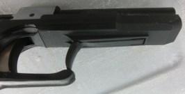 Trigger-fringer racking lever