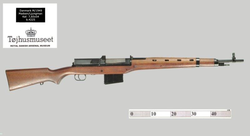 7.65mm Madsen-Ljungman rifle