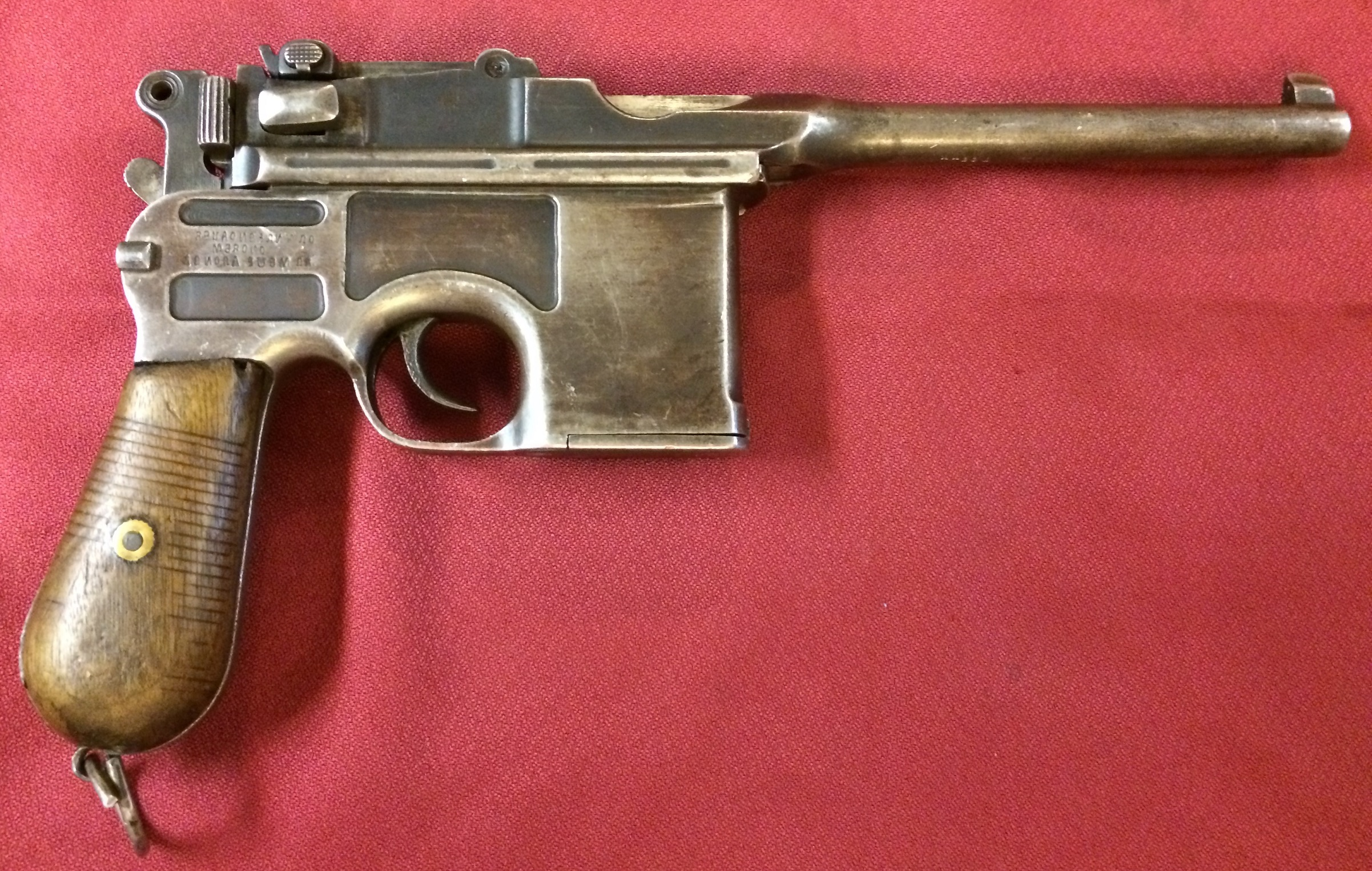 Mauser C96 with Chinese Hand-Made Frame – Forgotten Weapons