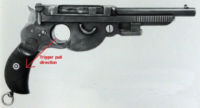 Bergmann 1894 pistol