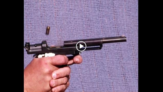 Steyr-Mannlicher M1905 slow motion