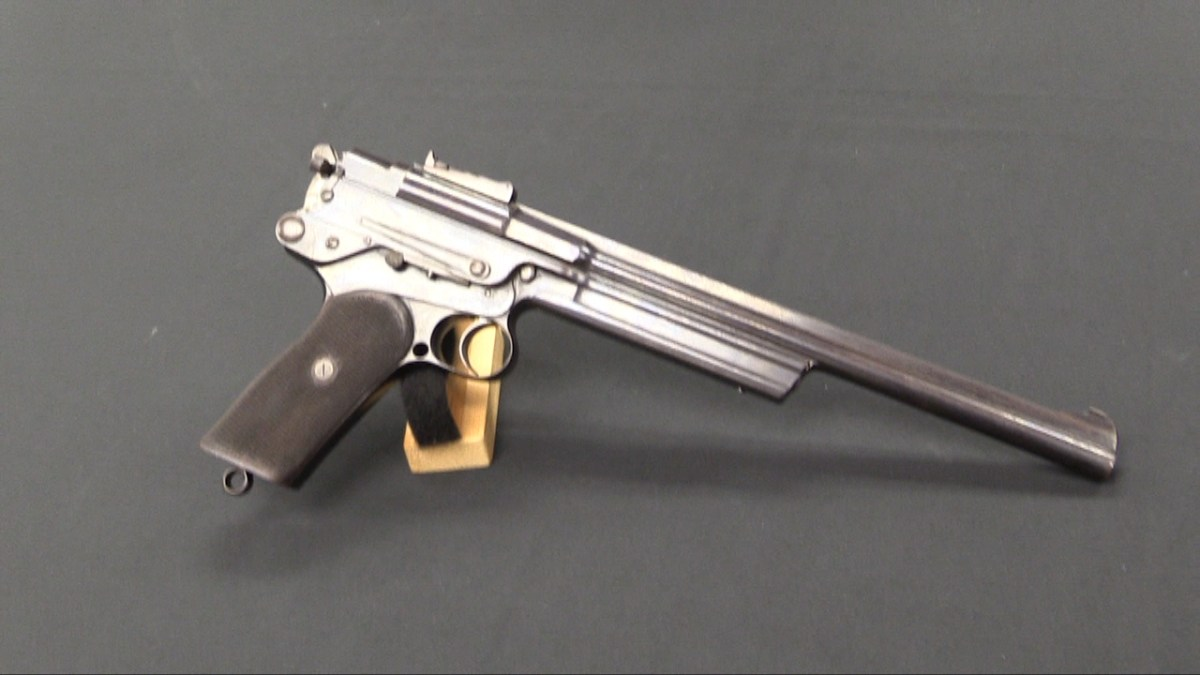 Very Early Mars Pistol #4 at RIA – Forgotten Weapons