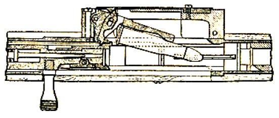 Mannlicher 1885 semiauto feed view
