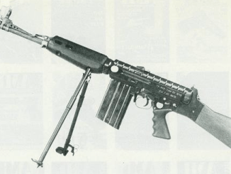 French MAS 62 trials rifle