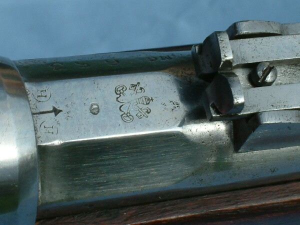 M1868 Remington Rolling Block made by Nagant for the Vatican Guard