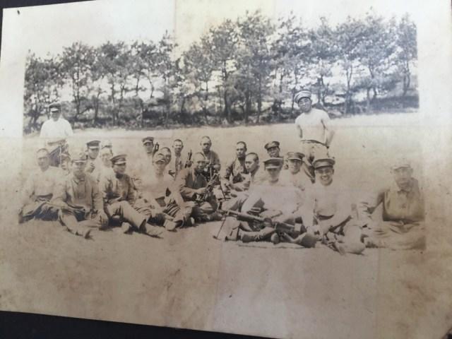 Basic training class of Nambu gunners