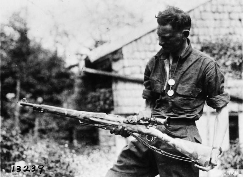 Springfield 1903 sniper w/ Warner & Swasey M1913 scope
