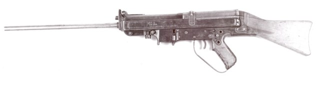 Russian trials Horn rifle (left side)