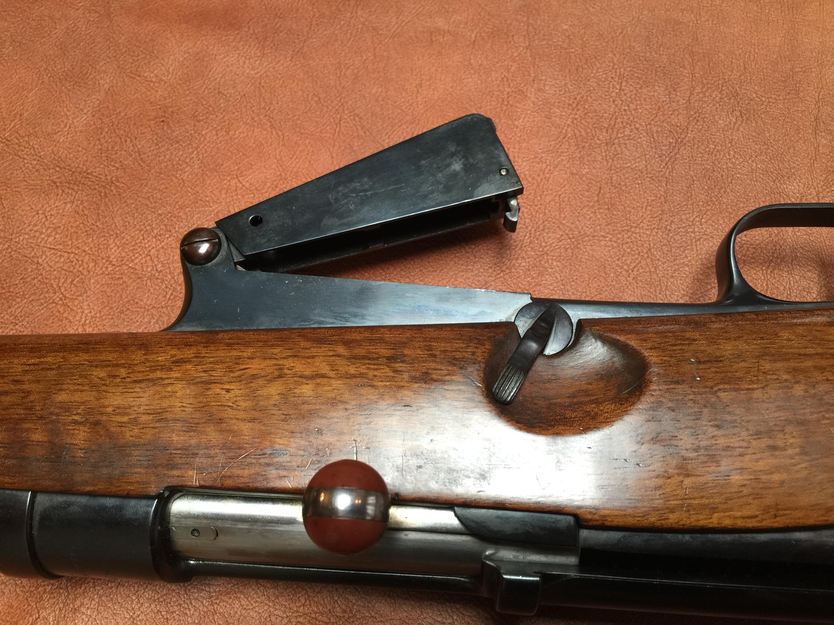 Beretta Model 1931 & 1937 Prototype Semiauto Rifles