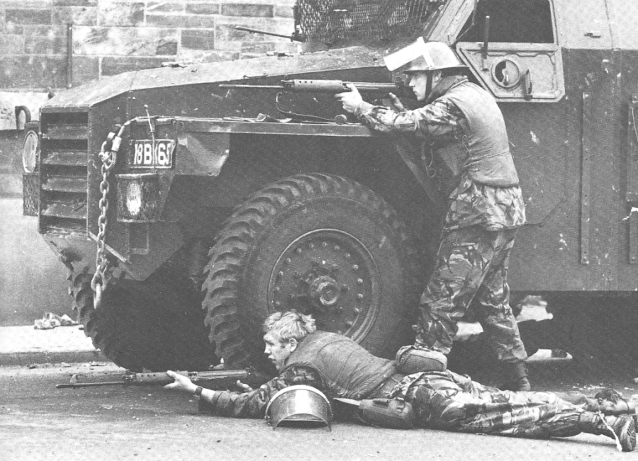British troops in Northern Ireland, 1971