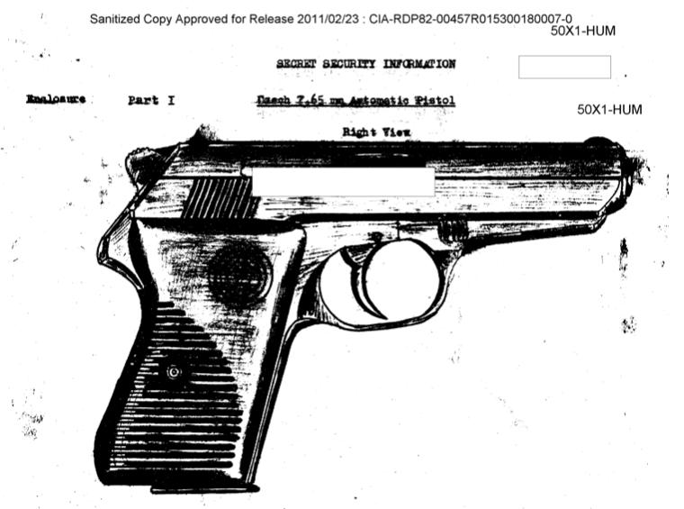 Czech CZ-50 Pistol: CIA Assessment
