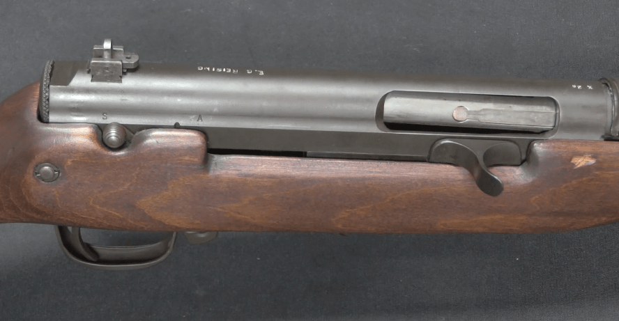 Experimental Reising 7 62mm Full-Auto Battle Rifle