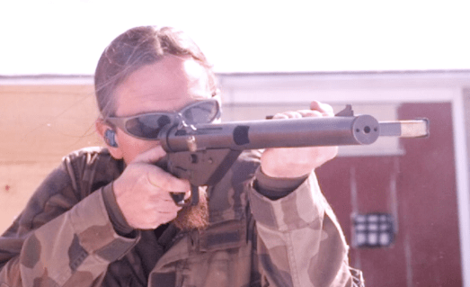 Shooting a Suppressed Sten Gun – Forgotten Weapons