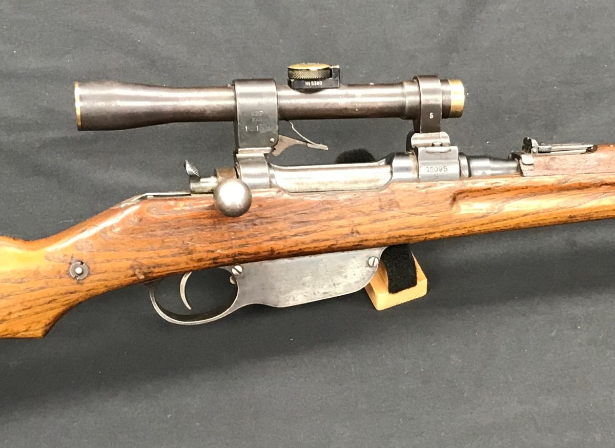 WWI Steyr M95 Sniper Carbine – Forgotten Weapons