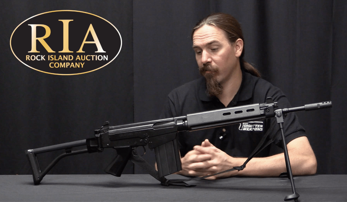 FAL Paratrooper 50 63 – Forgotten Weapons