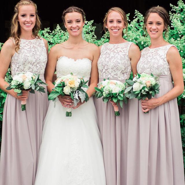 Bridesmaid Dresses, Little White Dress, Simple Wedding