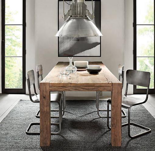 Mesas rsticas para decorar tu saln  Forja Hispalense Blog