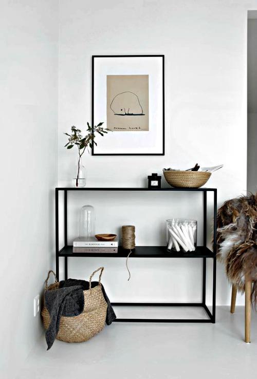 Muebles de entrada y muebles de recibidores modernos