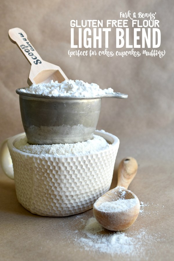 Gluten Free Flour Blend Cakes - Fork And Beans