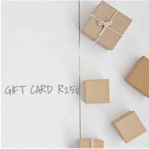 GIVE A SHEET GIFT CARD – R250