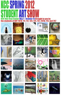 KCC Student Art Show Poster