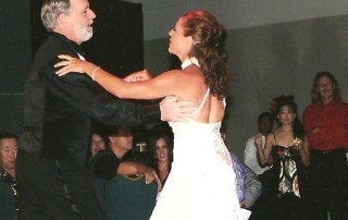Instructor Susie Ayers with a dance partner