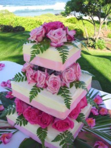 Sweet Marie's gluten-free wedding cake