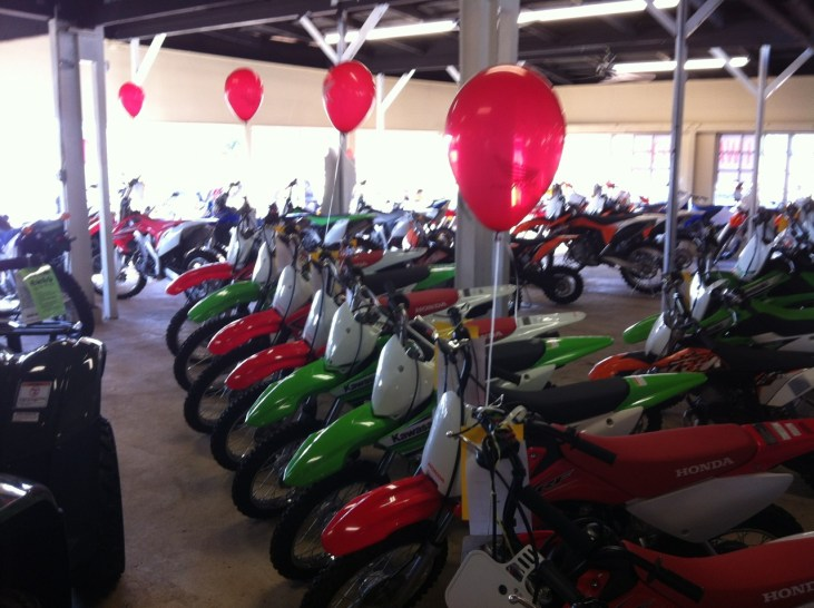 4th Anniversary Savings…at Garden Island Motorsports wall to wall rides!