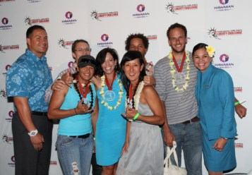 Mixed Nuts at 2012 Hawaiian Airlines Liberty Challenge post race Lu'au and Awards Ceremony.