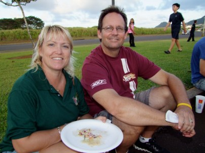 Satisfied Eat the Street consumers Susan Smith and Jim Fuller