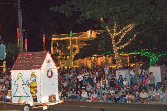 On Friday, Dec. 7, select roads will close for Lights on Rice Parade. Courtesy photo