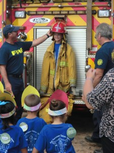 KIDS Firefighters visit
