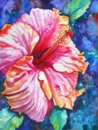 Tropical Hibiscus by Marionette Taboniar
