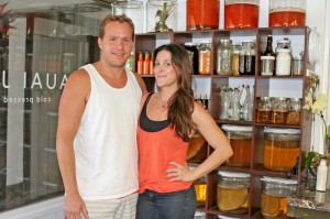 Kaua'i Juice Co owners Dylan Scott and Krystal Muhich wanted to fill a void on the island when they opened their health-oriented business in January.
