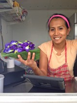 Anatta's Authentic Thai Food serves a blue rice infused with butterfly pea flowers. Anatta said the blue flower extract keeps you young, helping your hair grow stronger and your eyes to stay healthy. The food trailer is parked outside Ace Hardware in Lihu'e, Monday through Saturday from 10 a.m. to 8 p.m.