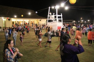 More than 300 came to the Kapa'a Hongwanji Bon Dance June 21 and 22.