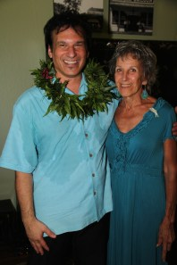 Cary Valentine of Kilauea and Annalia Russell of Kapa'a.