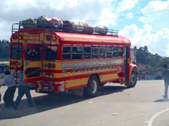 Chicken Bus! Guatemala