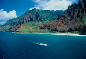 Kalalau Beach is seen here in this undated photo.