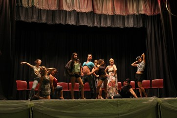 Group playing models under hypnosis