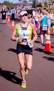 Nicole Chyr, 36, of Englewood, Colo., won the 6th Annual Kaua'i Marathon.