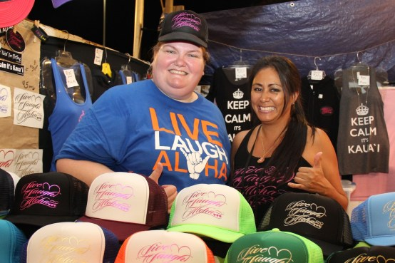 Laurie Cicotello, left, and Deann Yamaguchi, of Live Laugh Aloha.