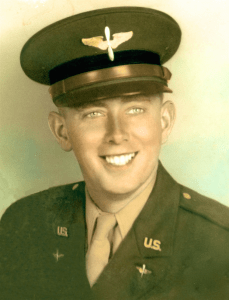 "Kaua'i resident and World War II veteran Percival ""Percy"" Bailey when he was a 17-year-old member of the U.S. Air Corps."