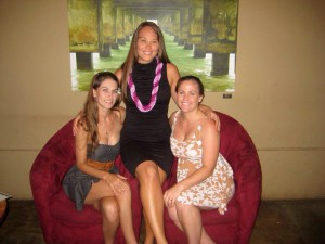 Kristine Ichikawa, center, will be showcasing her photography in December at Trees Lounge behind Coconut Marketplace.