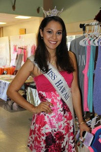 Miss Hawai'i Stephanie Steuri, from Kalaheo.