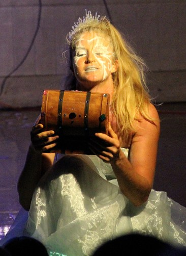 Joanna Maltas as the Snow Queen